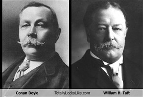 Conan Doyle Totally Looks Like William H. Taft