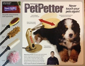 The Pet Petter Pets Your Pet for You