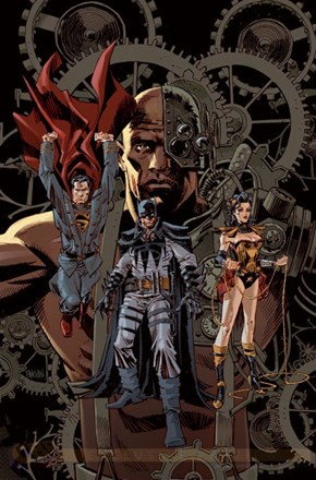 DC Steampunk Variant Covers