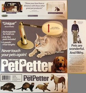 The Pet Petter Pets Your Nasty Pet For You