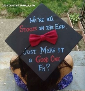 The Perfect Creative Writing Major Graduation Cap