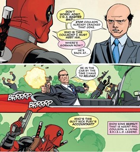 Agents Coulson in Deadpool #22