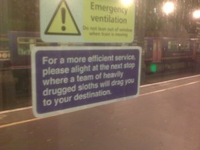 The London Underground Gets a Bit Cheeky