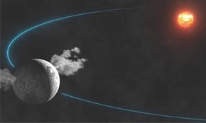 Ceres Erupts Water Vapor Into Space
