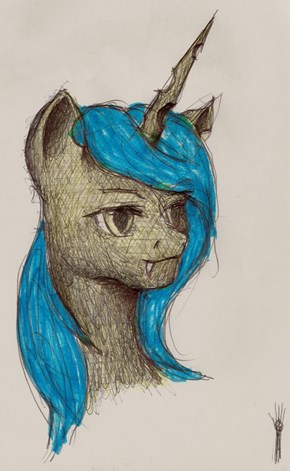 Queen Chrysalis (sketch)