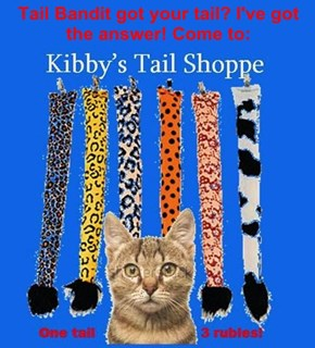 Tail Bandit got your tail? I've got the answer! Come to: