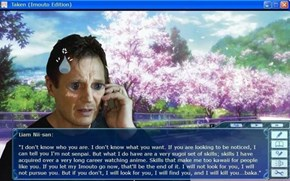 If Liam Neeson Had His Own Dating Sim