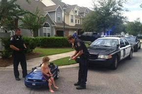 Exclusive Photo of Justin Bieber's Arrest