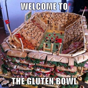 WELCOME TO  THE GLUTEN BOWL