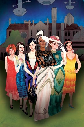 A Downton Abbey, Roarin 20's X-Men Variant Cover