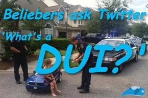 "Kids These Days Have Zero Idea What Justin Bieber's ""DUI"" Actually Means"