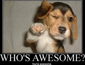 It's National Compliment Day and YOU ARE AWESOME!