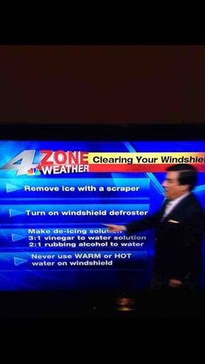 "This is What Texan Weather Reporters Are Warning About During Their ""Ice Storm"""