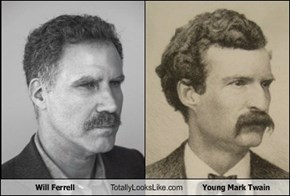 Will Ferrell Totally Looks Like Young Mark Twain