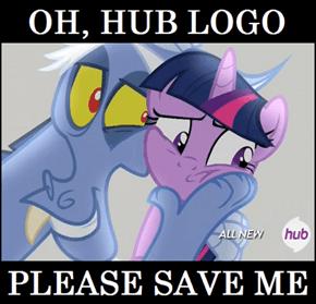 Please save me, Hub Logo