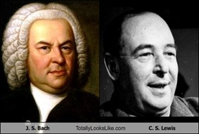 J. S. Bach Totally Looks Like C. S. Lewis