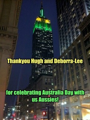 Australia Day at Empire State