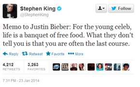 When Stephen King Think's Your Life is Scary, Things Might Have Gone Wrong