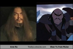 Aron Ra Totally Looks Like Shan Yu from Mulan
