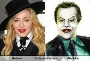 Madonna Totally Looks Like The Joker