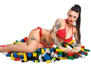 She Will S the D for LEGO Decoration