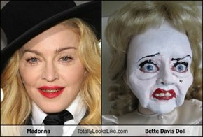 Madonna Totally Looks Like Bette Davis Doll