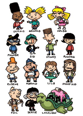 Who's Your Favorite Hey Arnold Character?