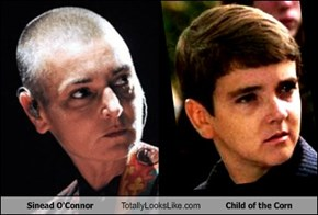 Sinead O'Connor Totally Looks Like Child of the Corn