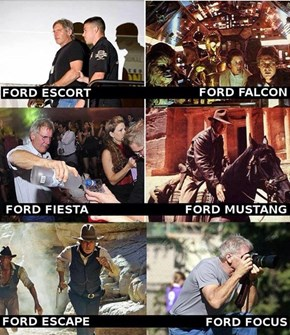 Let's Go on a Harrison Ford Expedition Through His Movies