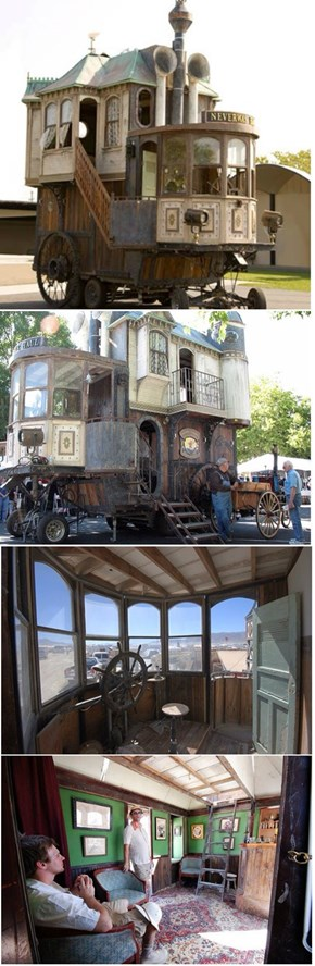 The Neverwas Haul is the Victorian Mobile Home That Never Was