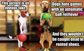 Dogs Only Use Yellow Bowling Balls