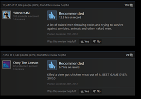 Found Some Funny Reviews for Rust