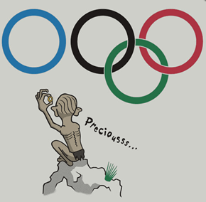 Gollum Goes to the Olympics