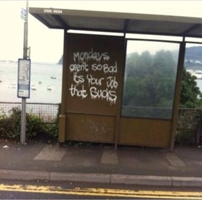 This Graffiti is the Wisest Thing You'll See All Day