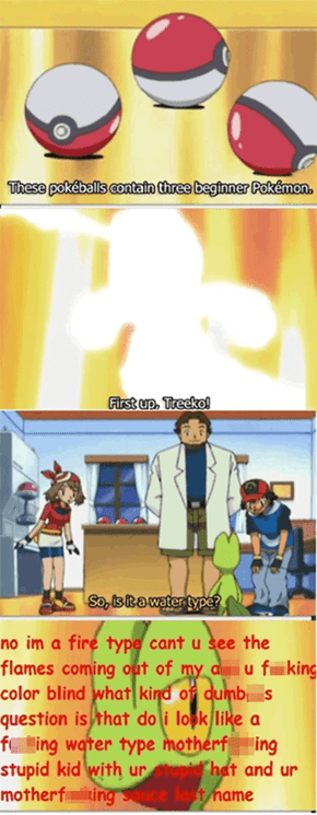 Ash asks the most clever questions