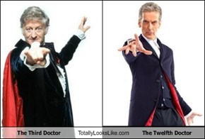 The Third Doctor Totally Looks Like The Twelfth Doctor