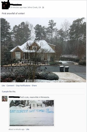 Georgia Doesn't Know What Snow Really Looks Like