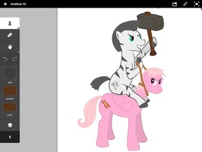 Random project I'm working on. NO THIS IS NOT BRONY4LYFE'S FINAL FORM.