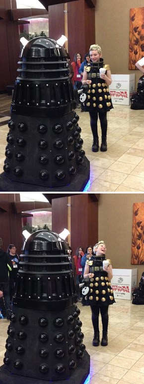 Don't Let The Dalek Cosplay Get You Into Trouble
