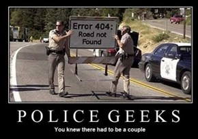 Cops Are Nerds