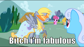 No one can match Derpy in awesomeness!