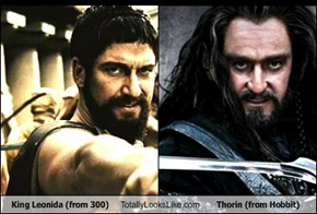 King Leonidas Totally Looks Like Thorin