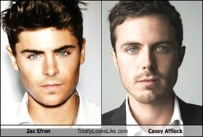 Zac Efron Totally Looks Like Casey Affleck