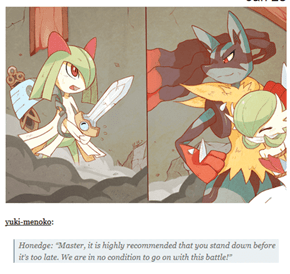 Legend of Kirlia