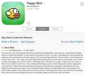 Check Out This Hilarious Review for Flappy Bird