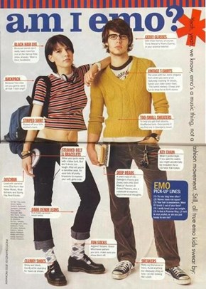 Emo, as Defined by Seventeen Magazine in 1999