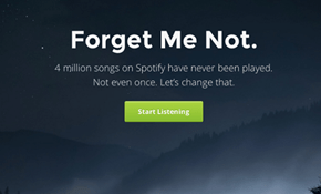 Website of the Day: Discover Unplayed Spotify Songs With Forgotify