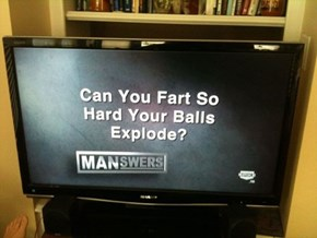 Manswers Asks the Tough Questions