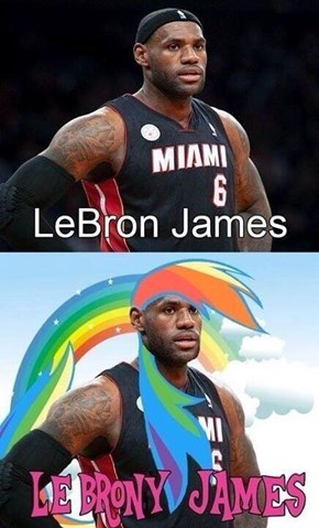 LeBron(y) James