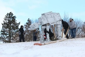 Sledding Competitions Are a Breeze Compared To The Ice Planet Hoth